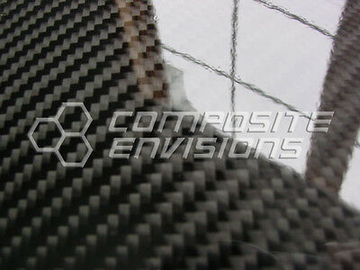 Carbon Fiber Panel .022.56mm 2x2 Twill - Epoxy-12 X 48