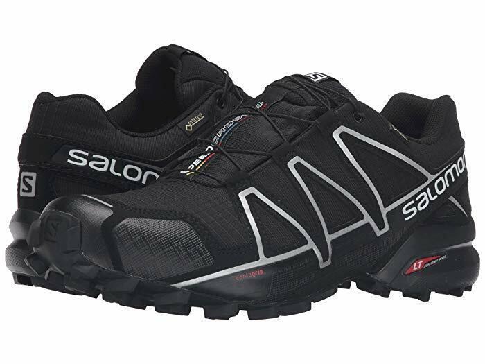 Salomon Speedcross 4 Gtx Gortex Mens Trail Running Shoes Blk
