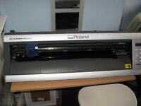 Roland GX24 & Stahls heat press