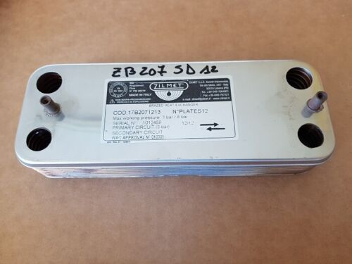Saunier Duval Exchanger Utilities S10058 S101600 Boiler Combitek F 24 & 3S