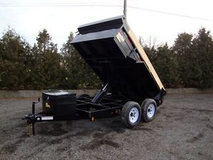 Contractor Dump Trailer - Starting at $105/Month Kitchener / Waterloo Kitchener Area image 2