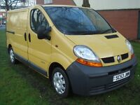 Renault trafic WANTED in pale yellow or blue HAMPSHIRE