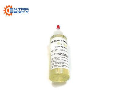 New Lubricant Oil For Hp Designjet Plotter Printers Genuine Usa Seller 4 Fl