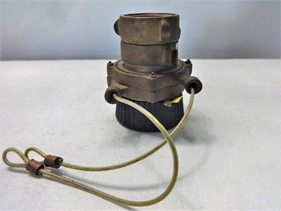 Elkhart Cj-b 2.5 Brass Fire Hose Nozzle