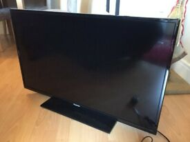 48 inch panasonic viera full hd 1080p led tv+freeview+remote+DELIVERY