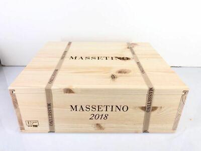 2018 MASSETINO dell' ORNELLAIA - 3 x 75 CL in CASSA LEGNO - SPEDIZIONE GRATUITA