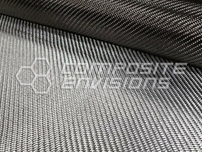 Silver Aluminized Carbon Fiber Fabric 2x2 Twill 3k 203.43gsm6oz 50 Toray T-300