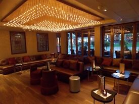 Waiters, Bartender, Superviser, Sou Chef Wanted Layla Restaurant in Esher