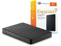 *Brand New & Sealed* Seagate Expansion 2 TB USB 3.0 Portable External hard drive