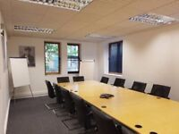 Large Meeting Room in Central Location can be booked by the hour for just £30 Project / Presentation