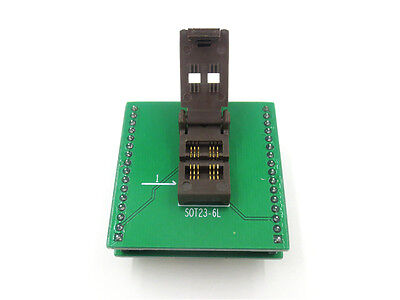 New Sot23 Sot23-6 Sot23-6l Ic Test Socket Programmer Adapter Burn-in Socket