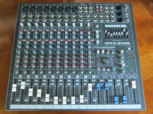 Mackie CFX 12 Professional Mixer and Road Case