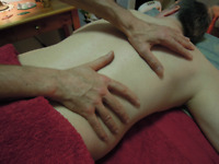 Male to Male relaxing massage. Male body grooming