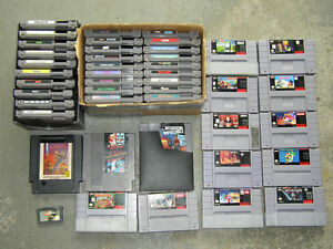 looking for nes.and snes games Belleville Belleville Area image 1