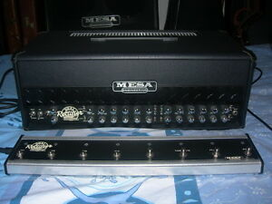 Roadster Dual Rectifier Mesa Boogie 100Watt Amp and 4X12 O/S Cab London Ontario image 9