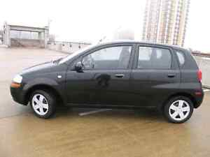2009 Chevy Aveo LS LOW KM BRAND NEW WINTER TIRES