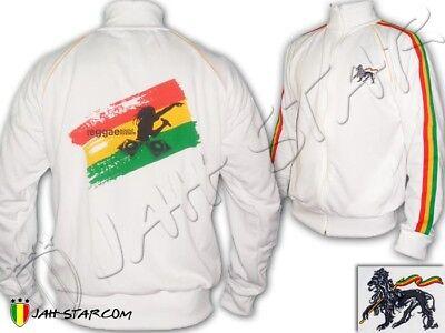 Rasta Jacket Jacke Jah Rastafari DJ Sound System Jamaican Ghetto Dj-sound-system