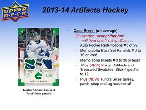 2013-14 Upper Deck Artifacts Hockey Hobby Cards Box Kitchener / Waterloo Kitchener Area image 4