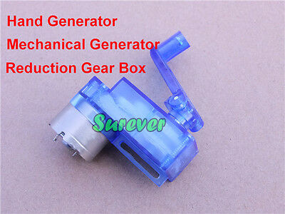 Hand Crank Generator Mechanical Generator Child Electric Teach Test Model Diy