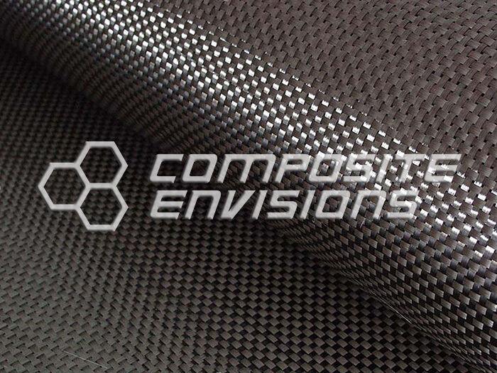 """Carbon Fiber Fabric Plain Weave 50"""" 3k 5.7oz Commercial Grade"""