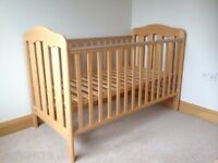 Cot Bed Mamas and Papas good condition!