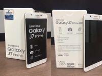 brand new samsung galaxy J7 prime unlocked 01274921308