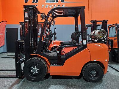 2020 Viper Fy35 8000lb Pneumatic Forklift Kubota Lpg Lift Truck Hi Lo 89189