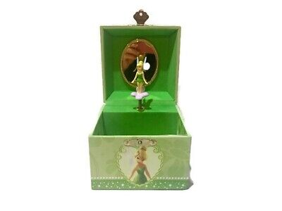 Tinkerbell Merchandise (DISNEY TINKER BELL Music Jewelry Box 'You Can Fly' Disney Theme Park)