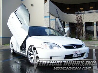 Civic Vertical Doors - Honda Civic 96-00 Lambo Style Vertical Doors VDI Bolt On Hinge Kit