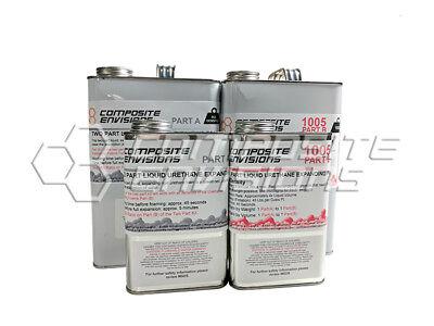 Two Part Liquid Urethane Expanding Foam 15-lb Density - Kit Size 8 Gallons