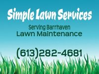 Simple Lawn Care Services Barrhaven/Riverside South/Manotick