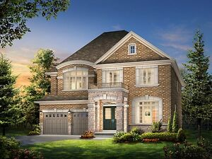 Newmarket's Brand New 4 Bdrm Detached Home with 2 garage!