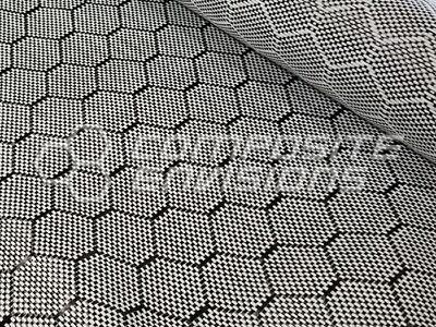 Carbon Fiberinnegra Hybrid Fabric Honeycomb 3k 50127cm 5.19oz176gsm