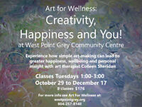 Art for Wellness: Creativity, Happiness and You!