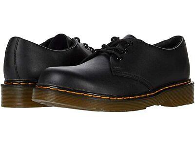 Dr. Martens Collection 1461 Oxford - Unisex Little Kids Size 11, Black Leather