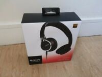 Sony MDR-RC10 Black Headphones - unopened, brand new
