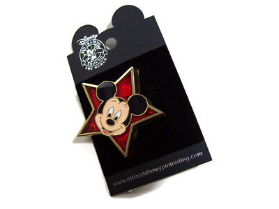 Disney Mickey Mouse Star Light Up Pin New