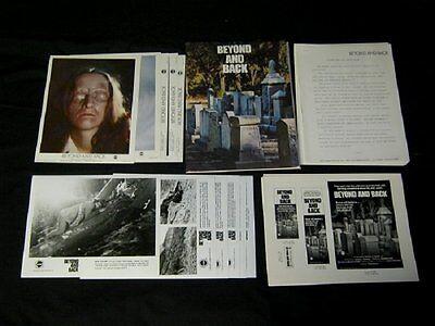 Original 1978 BEYOND & BACK 6 PHOTOS 5 MINNIE LCs Press Kit W/POSTER & AD SLICK