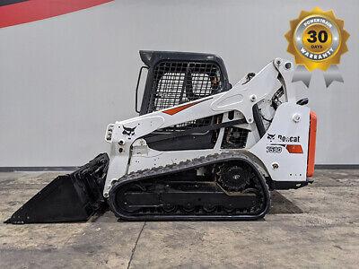 2017 Bobcat T590 Tracks 2100lb Skid Steer Diesel Rough Terrain Lift 9107