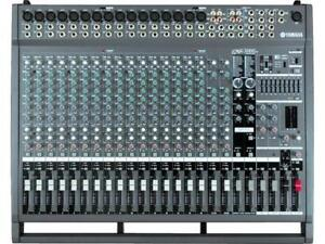 Yamaha EMX5000 20-Channel Powered Mixer 1000 Watts