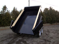 6' x 12' Heavy Durty 10,000 lb Dump Trailer