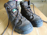 Size 10W Timberland Pro Steel Toe Boots