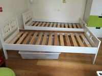 2 IKEA KRITTER childrens beds and mattress 30 each