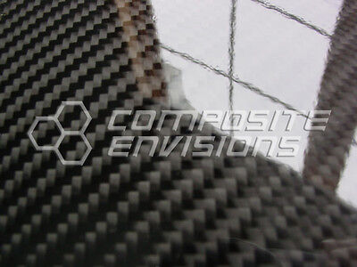 Carbon Fiber Panel .1854.7mm 2x2 Twill - Epoxy-12 X 48