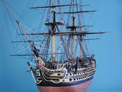 "Exquisite, Detailed Wooden Model Ship Kit by Caldercraft: the ""HMS Victory"""