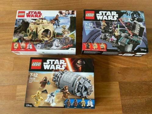 LEGO - Star Wars - 75136+75169+75208 - Ruimteschip Droid Esc