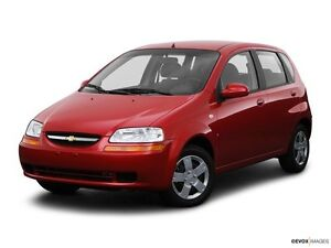 2008 Chevrolet Aveo Hatchback FOR TRADE