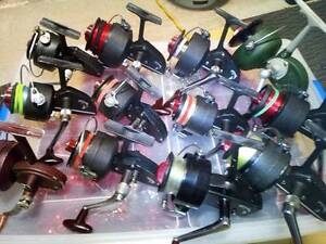 Vintage D.A.M. Fishing Reel collection Mirrabooka Lake Macquarie Area Preview