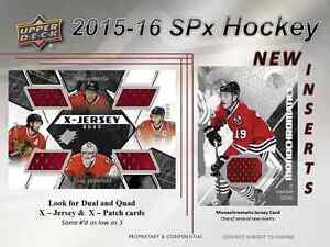 2015-16 Upper Deck SPx Hockey Cards Hobby Box Kitchener / Waterloo Kitchener Area image 6