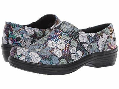 Klogs Footwear Mission Women's Slip-Resistant Work Clogs - Lily Petrol